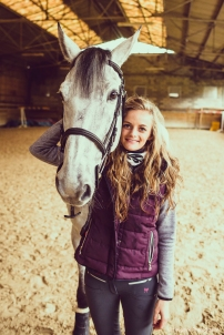 shooting photo equestre