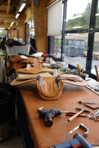 Visite des ateliers Butet à Saumur
